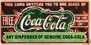 Early coupon from Coca-Cola