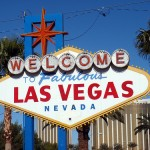 The famous Vegas sign