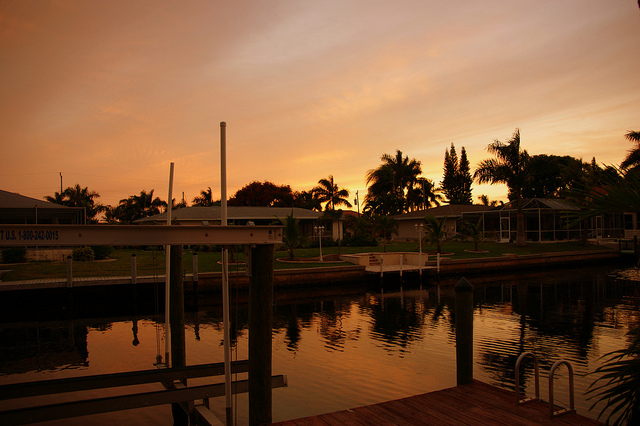 Cape Coral sunset, by Don Maedi