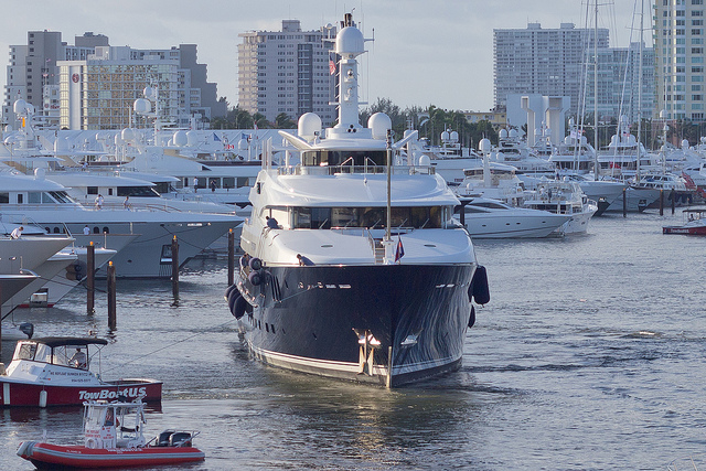 Boats in Fort Lauderdale
