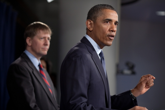 President Obama and CFPB's Cordray