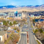 Boise downtown area