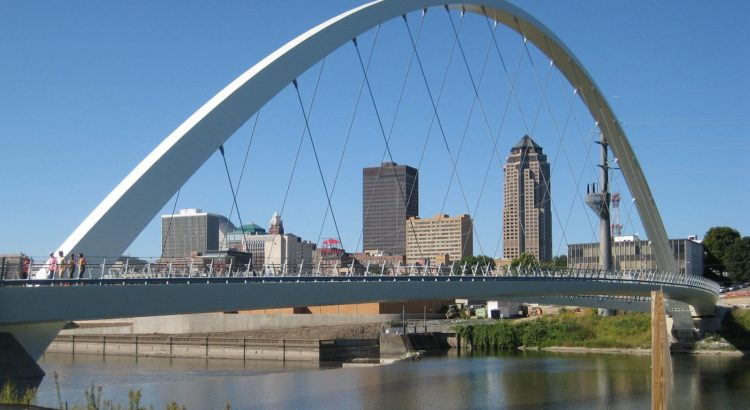 Picture of downtown Des Moines