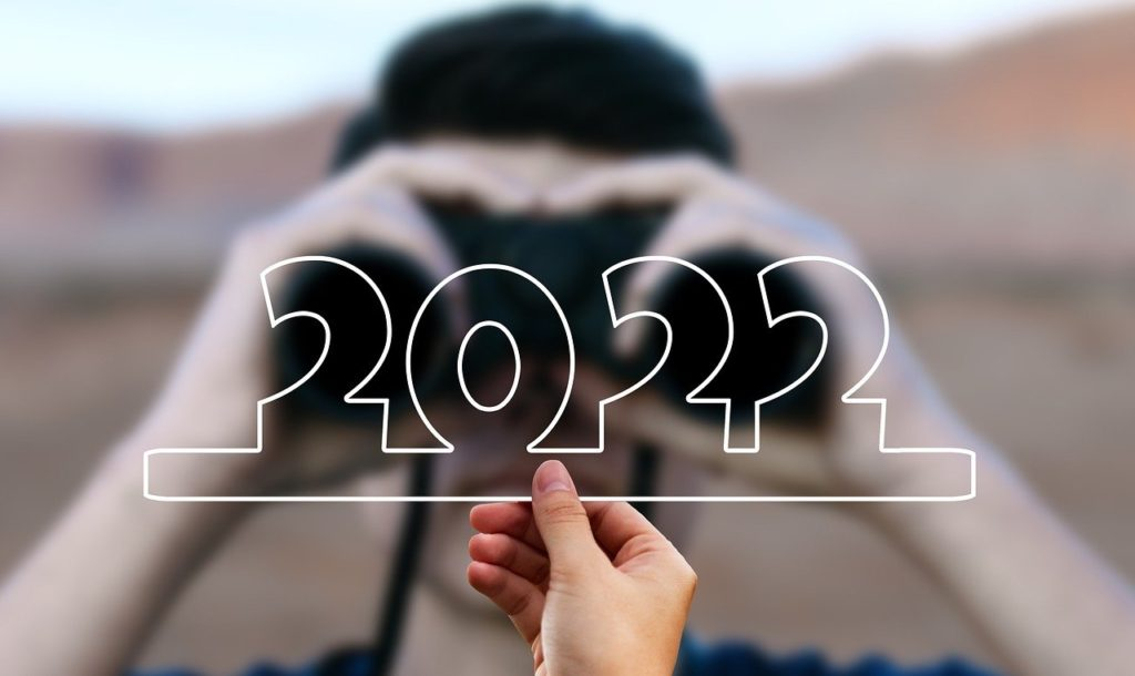 Looking into 2022 concept