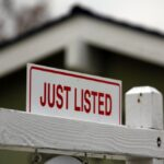 Just listed sign